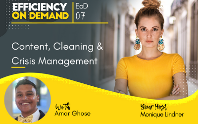 Content, Cleaning & Crisis Management with Amar Ghose