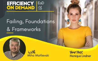 Failing, Foundations & Frameworks with Miha Matlievski