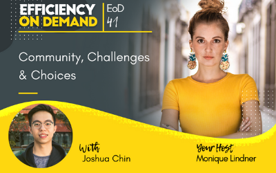 Community, Challenges & Choices with Joshua Chin