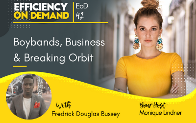 Boybands, Business & Breaking Orbit with Fredrick Douglas Bussey
