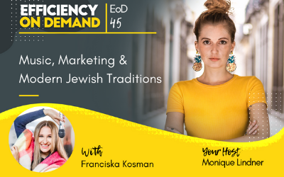 Music, Marketing & Modern Jewish Traditions with Franciska Kosman