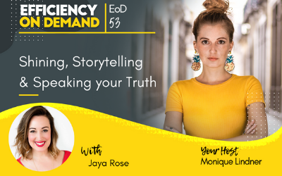 Shining, Storytelling & Speaking your Truth